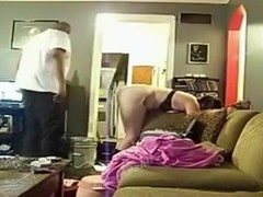 White woman cheats and says that she never had a leg shaking orgasm like this