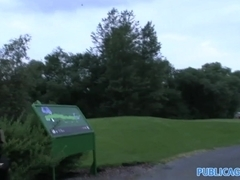 PublicAgent: Moneka is Fucked for punishment on the golf course