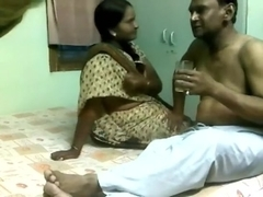 Older slut nailed silly in homemade desi sex video