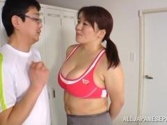 Hot milf Mizuki Ann has big tits fucked hard