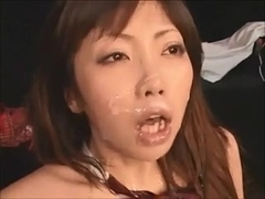 Japanese pop singer fucks her audience (part 4)
