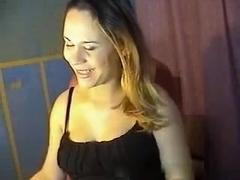 Hot girl strips for me on webcam vid