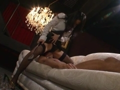 Sora Aoi Lovely Asian babe in costume for hardcore sex
