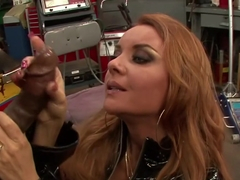Amazing pornstar Janet Mason in incredible redhead, cumshots xxx clip