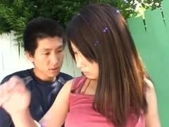 Hot MILF Ayano Umemiya Takes Off Her Bikini To Fuck Outdoors