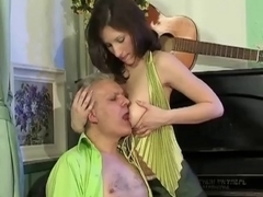 That Babe Needs A Fuck Not A Music Lesson !