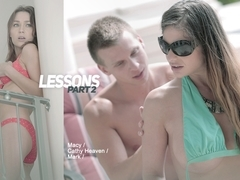 Cathy Heaven in Lessons: Part II Scene
