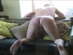 dude caned by russian hotty
