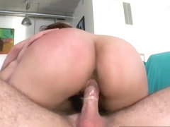 Big ass Vanessa Luna bounces up and down on dick