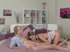 Fabulous pornstars Deny Moor, Tim in Amazing MILF, Romantic porn scene