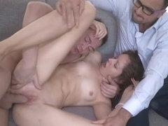 Yan & Elisaveta Gulobeva & Brian in The Idea Of A Real Pervert - SellYourGF