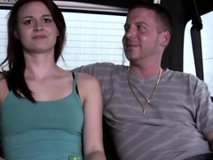Sage Evans in Fucked then thrown off the bus