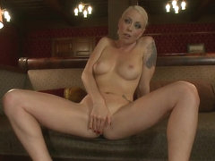 Paying Back a Debt with Her Pussy Lorelei Lee and Annalise Rose