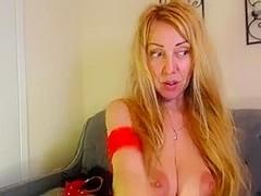 gaping cum-hole and ass Milf