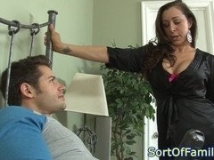 Busty Kaylynn assfucked before facial