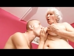 Granny and young stud