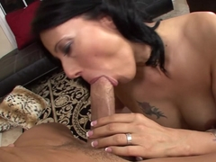 Best pornstar in Crazy POV, Brunette adult clip