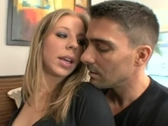 Wicked blonde in DP action with BBCs