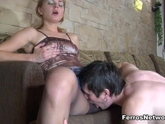 PantyhoseLine Scene: Elvira D and Vitas