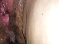 Granny pissing and creampied