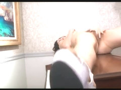 Fabulous Brunette, Solo Girl porn scene