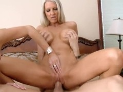 Threesome with mamas Darla Crane and Emma Starr