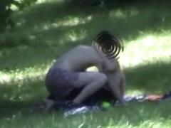 Voyeur compilation of exhibitionist couples having sex outdoor