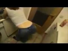 Teen (POV) #78 Fucking the Babysitter over the Kitchen sink!