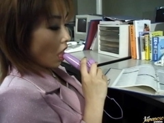 Jyuri hashimoto office masturbation!