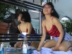 Curly Oriental receives a sexy anal pounding by a BBC