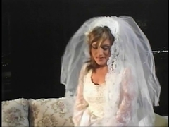 Bride getting her wazoo screwed