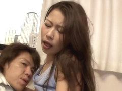 Crazy Japanese slut Miki Shibuya, Miyu Kotohara, Asuka Kyono in Horny cunnilingus, threesomes JAV .