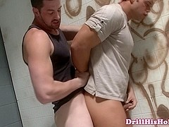 Rocco Reid pounding tight hole