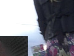 Long-awaited upskirt accidents in the public transport