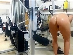 Nude Workout with Vibrator 5 of 5