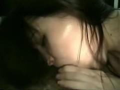 Angel deepthroating diminutive jock (no audio)