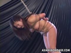 Extreme Asian rope bondage and BDSM