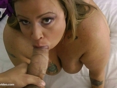 Breasty big beautiful woman mother I'd like to fuck Likes To Drink and Engulf knob