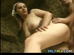 MILF Fucking On The Farm
