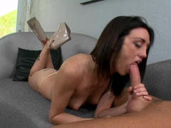 Best pornstar in Incredible Brunette, Casting xxx scene