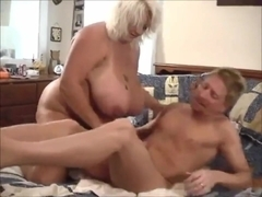 Big Titty BBW Blonde Suck N' Fucked Hard 2