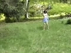 outdoor aerobic fuck session