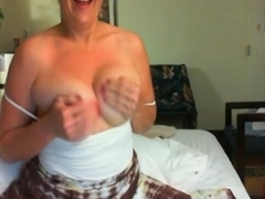 Mature whore plays with her kinky sex toys