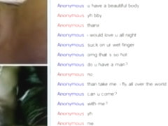 Gorgeous large darksome cutie can't live without large darksome ramrod on omegle