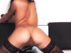 Hot Russian girl Brazyl shows excellent show