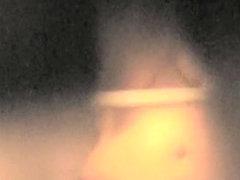 Free shower voyeur cam catching big amateur woman