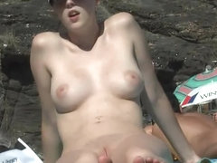 TheBeachWatch 7 young amateur girl sunbath beach
