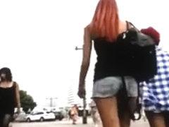 Candid - Upskirt - Compilation Berlin Teens