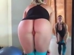 Amateur nude yoga