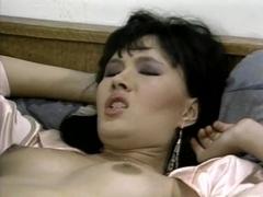 Kristara Barrington, Erica Boyer, Kevin James in vintage fuck movie